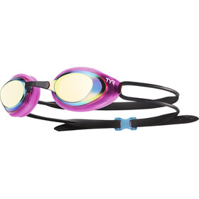 TYR Black Hawk Racing Polarized Goggles Dames, gold/pink/black